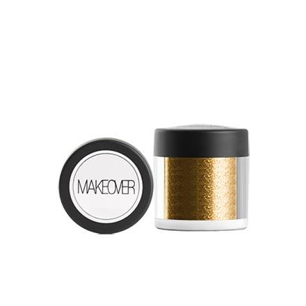 MAKEOVER PARIS, Рассыпчатые тени Star Powder, Gold
