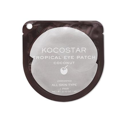 Kocostar, Гидрогелевые патчи для глаз Tropical, кокос, 1 пара