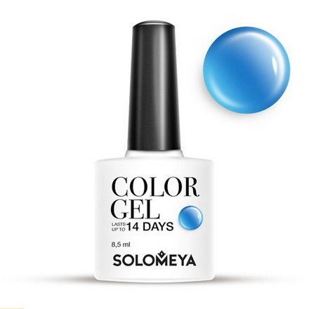 Solomeya, Гель-лак №33, Blue Candy