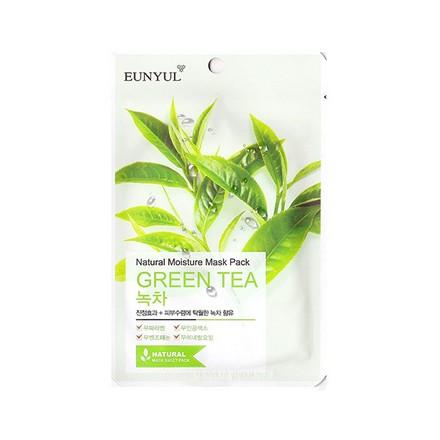 Eunyul, Тканевая маска для лица с экстрактом зеленого чая, 23 мл