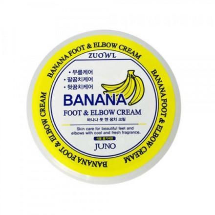Juno, Крем для ног и локтей с бананом, 100 мл