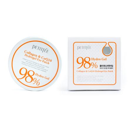 Petitfee, Патчи для глаз Collagen&Q10, 60 шт.