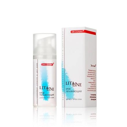 LitaLine, Крем для лица «Увлажняющий» для всех типов кожи, 50 мл