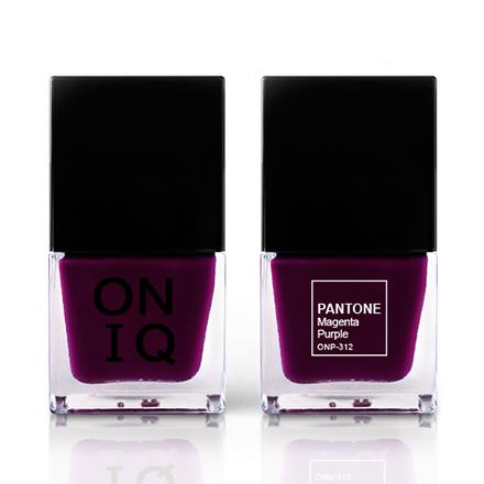 ONIQ, Лак для ногтей Pantone, Magenta Purple