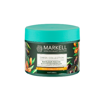 Markell, Бальзам-маска Green Collection, восстанавливающая, 300 мл