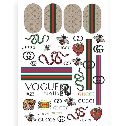 Vogue Nails, Слайдер-дизайн №23