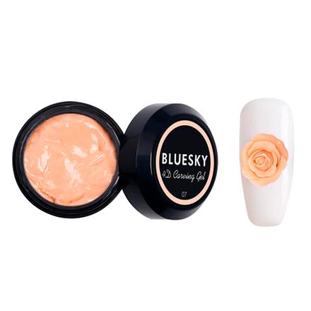 Bluesky, Пластилин Carving gel 4D №07, персиковый