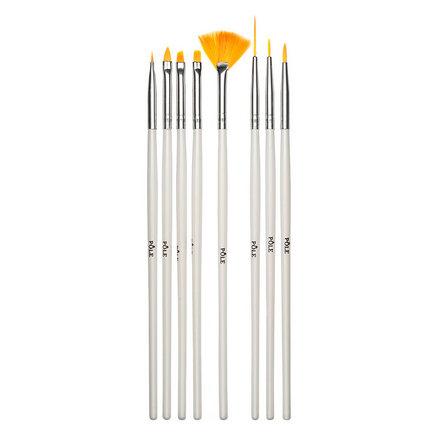 Pole, Набор кистей для дизайна, 8 шт.