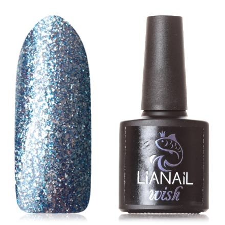 Гель-лак Lianail Wish Ultramarine Shine №006