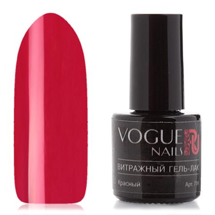 Vogue Nails, Гель-лак витражный Красный