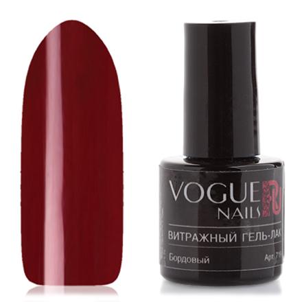 Vogue Nails, Гель-лак витражный Бордовый