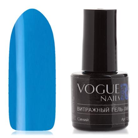 Vogue Nails, Гель-лак витражный Синий