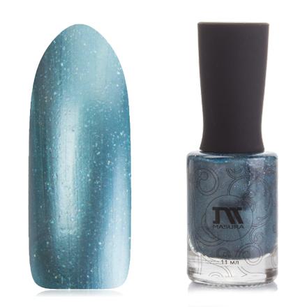 Masura, Лак для ногтей №904-196, Голубые звезды (УЦЕНКА)
