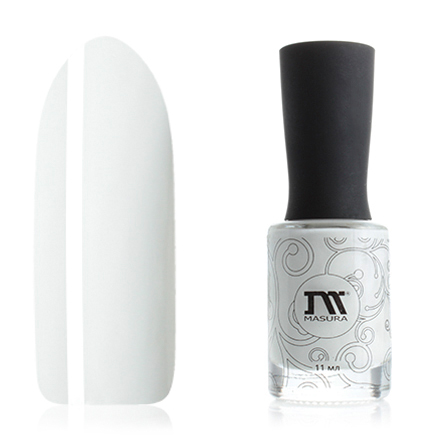 Masura, Лак для ногтей «Золотая коллекция», Белый Танец (УЦЕНКА)