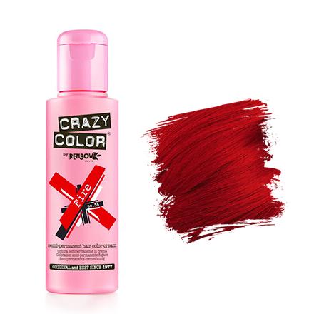 Crazy Color, Краска для волос №56, Fire
