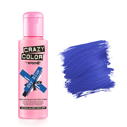 Crazy Color, Краска для волос №59, Sky Blue