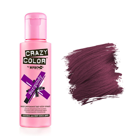 Crazy Color, Краска для волос №61, Burgundy