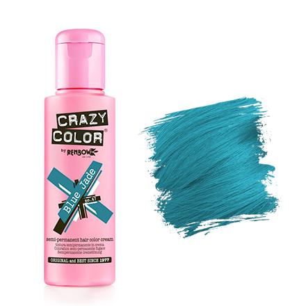 Crazy Color, Краска для волос №67, Blue Jade