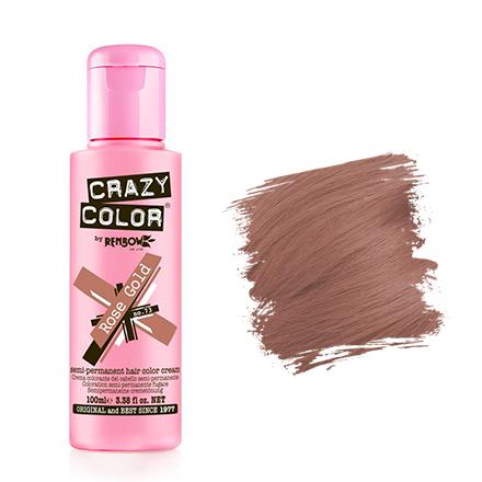 Crazy Color, Краска для волос №73, Rose Gold