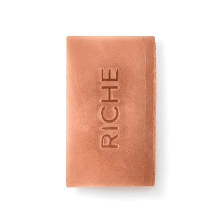 Riche, Натуральное мыло с красной глиной, 130 г