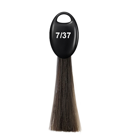 OLLIN, Крем-краска для волос N-Joy 7/37