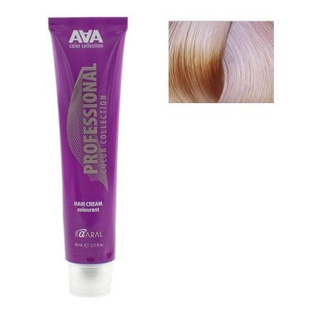 Kaaral, Крем-краска для волос AAA 10.16 (УЦЕНКА)