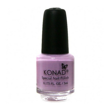 Konad, лак для стемпинга, цвет S17 Pastel Violet 5 ml (пастельно-фиолетовый) (УЦЕНКА)