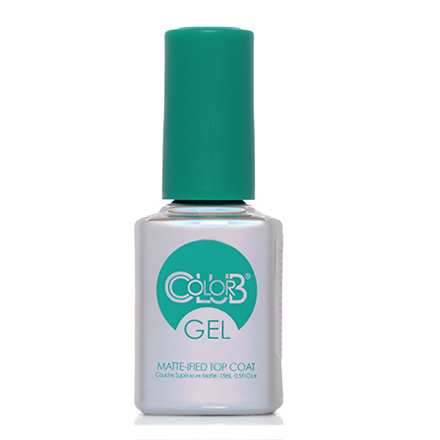 Color Club, Матовый топ, Matte-ified Gel Top Coat, 15 мл (УЦЕНКА)