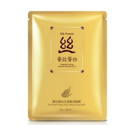 Bioaqua, Тканевая маска Silk Protein, 30 г
