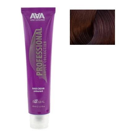 Kaaral, Крем-краска для волос AAA 5.25 (УЦЕНКА)