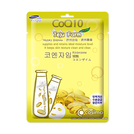 Cosima, Маска для лица Jelu Farm CoQ10, 25 г