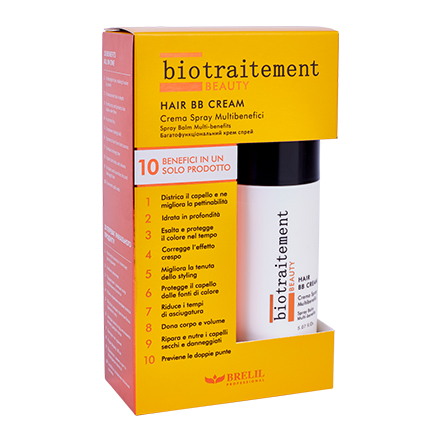 Brelil Professional, Маска для волос Biotraitement BB Cream, 150 мл