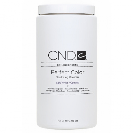 CND, Акриловая пудра Perfect Soft White, 907 гр