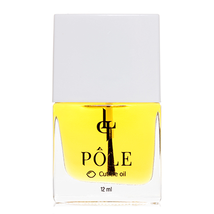 POLE, Масло для кутикулы, лимон, 12 мл
