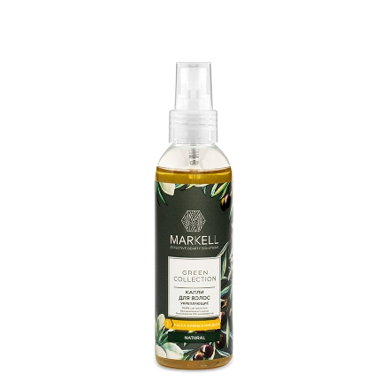 Markell, Капли для волос Green Collection, укрепляющие, 100 мл