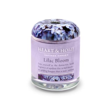 Heart&Home, Свеча «Цветущая сирень», маленькая, 110 г
