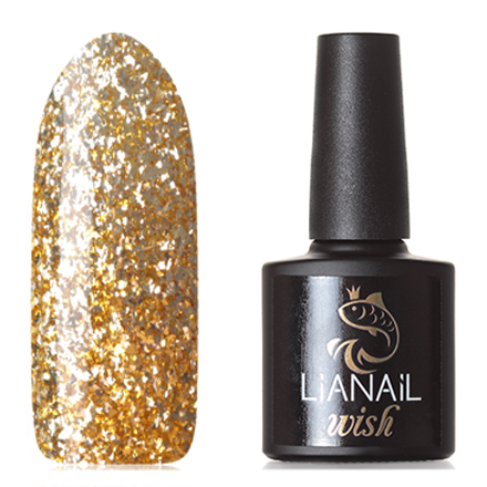Lianail, Гель-лак Wish Gold Shine №002 (УЦЕНКА)