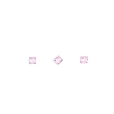 TNL, Кристаллы «Принцесса» №1, розовые, 10 шт.