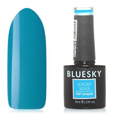 Bluesky, Гель-лак Luxury Silver №318