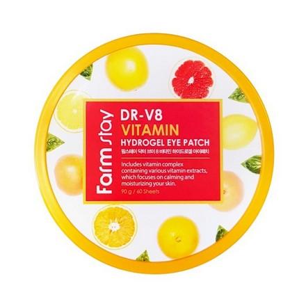 FarmStay, Патчи для глаз с витаминами, 60 шт.