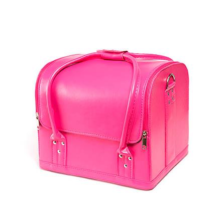 TNL, Кейс маникюриста, розовый, гладкая кожа