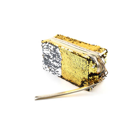 TNL, Пенал «Русалка», серебряный/золотый