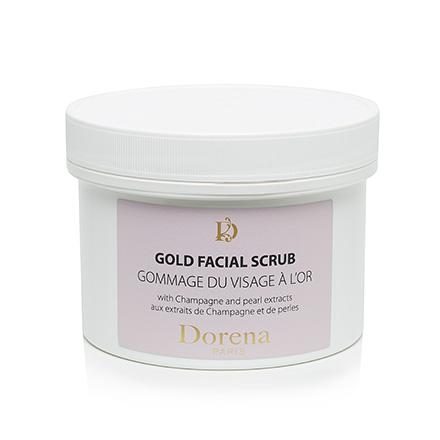 Dorena, Скраб-гоммаж для лица Gold, 350 мл