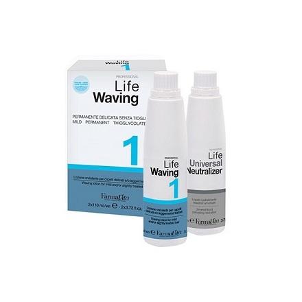 FarmaVita, Набор для химической завивки Life Waving №1, 2х110 мл