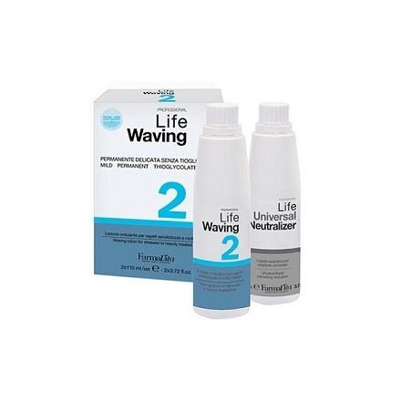 FarmaVita, Набор для химической завивки Life Waving №2, 2х110 мл
