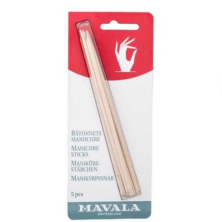 Mavala, Палочки для маникюра деревянные, 5 шт.
