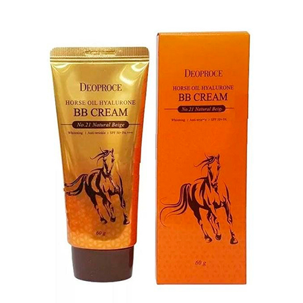 Deoproce, BB-крем Horse Oil Hyalurone №21, Natural Beige, 60 г