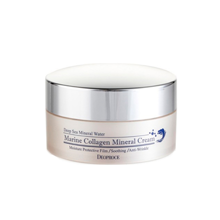 Deoproce, Крем для лица Marine Collagen Mineral, 100 г