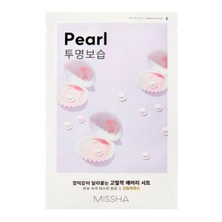 Missha, Тканевая маска для лица Airy Fit Pearl, 19 г