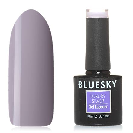 Bluesky, Гель-лак Luxury Silver №207